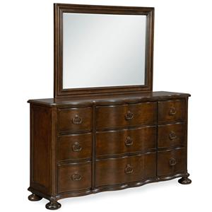 Paula Deen by Universal River House Dresser with Landscape Mirror