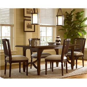 Paula Deen by Universal River House 5 Piece Dining Set with Kitchen Table