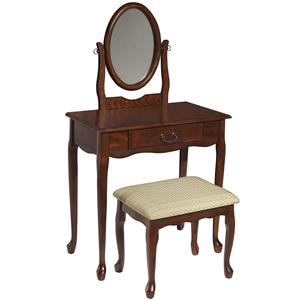 Powell Vanities  Woodland Cherry Vanity