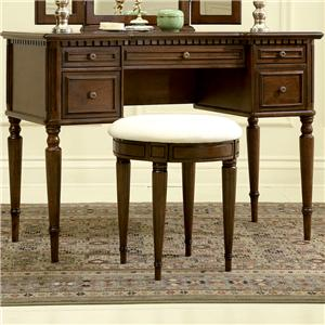 Powell Warm Cherry Vanity