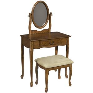 Powell Woodland Oak Woodland Oak Vanity