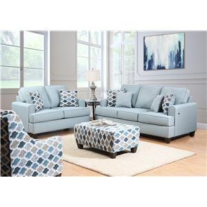 Oval Arm Sofa