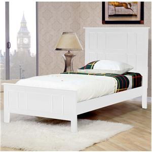 Private Reserve Millie (white) Millie (white) Twin Panel Bed