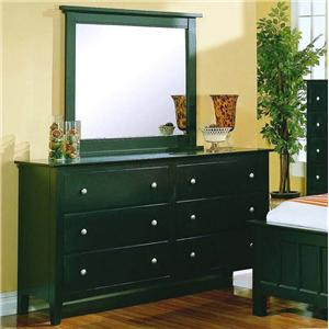 Private Reserve Millie (black) Millie (black) Dresser & Mirror