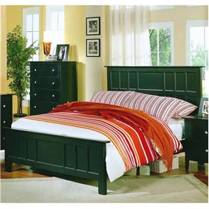 Private Reserve Millie (black) Millie (black) King Panel Bed