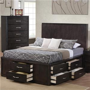 Private Reserve Dublin Queen Storage Bed