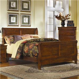 Progressive Furniture Bandera Queen Sleigh Bed