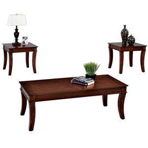 Progressive Furniture Corona 3 Pack Occasional Table Set