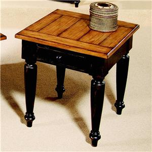 Progressive Furniture Country Vista End Table