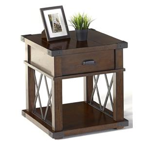 Progressive Furniture Landmark Rectangular End Table