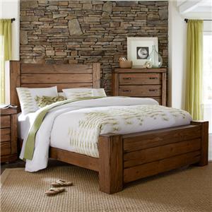 Progressive Furniture Maverick Queen Panel Bed