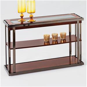 Progressive Furniture Medalist Sofa/Console Table