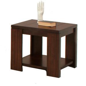 Progressive Furniture Waverly Square Lamp Table