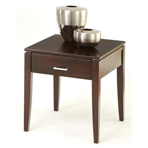 Progressive Furniture Pocono Rectangular End Table