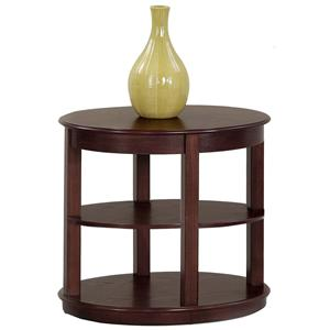 Progressive Furniture Sebring Oval End Table