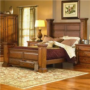 Progressive Furniture Torreon King Low Post Storage Bed