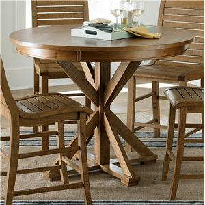 Progressive Furniture Willow Dining Round Counter Height Table