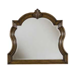 Pulaski Furniture San Mateo Carved Frame Dresser Mirror