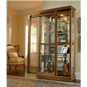 Pulaski Furniture Curios Two Way Sliding Door Curio - Item Number: 20484