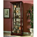 Pulaski Furniture Curios Curio Cabinet - Item Number: 20717