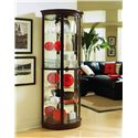 Pulaski Furniture Curios Half Round Curio - Item Number: 20857