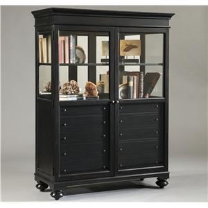 Pulaski Furniture Curios Double Door Brookfield Curio Cabinet
