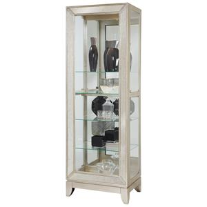 Pulaski Furniture Curios Platinum Side Entry Curio