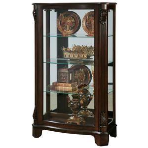 Pulaski Furniture Curios Side Entry Mantel Curio