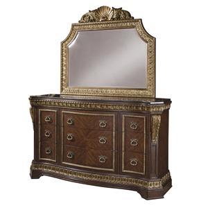 Pulaski Furniture Del Corto Dresser & Mirror