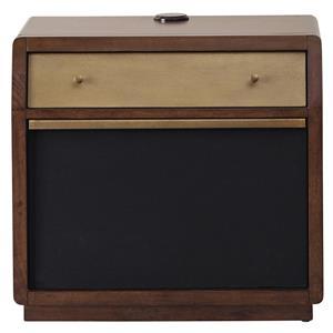 Pulaski Furniture Modern Harmony Amp Nightstand