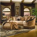 Rachlin Classics Grace Traditional 3pc Conversational Sectional Sofa - Shown in Living Room Setting