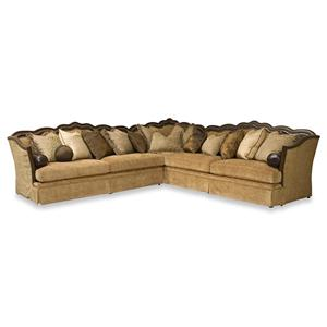 Rachlin Classics Lisa II 3pc Sectional