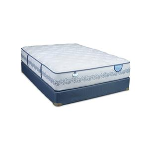 Twin Cushion Firm Mattress and Low Profile Foundation