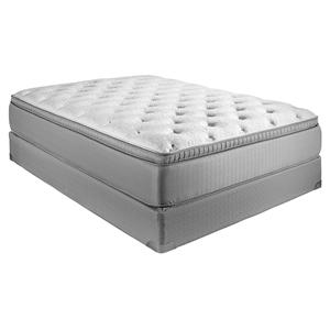 Restonic ComfortCare Select - Gentilly II Queen Plush Euro Top Hybrid Mattress