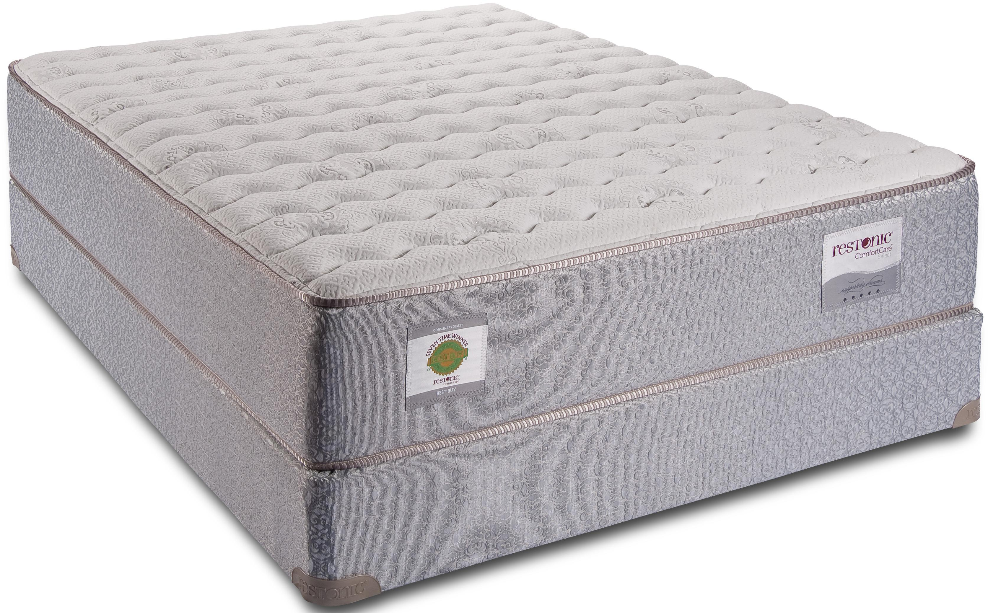king firm mattress by restonic wolf and gardiner wolf furniture