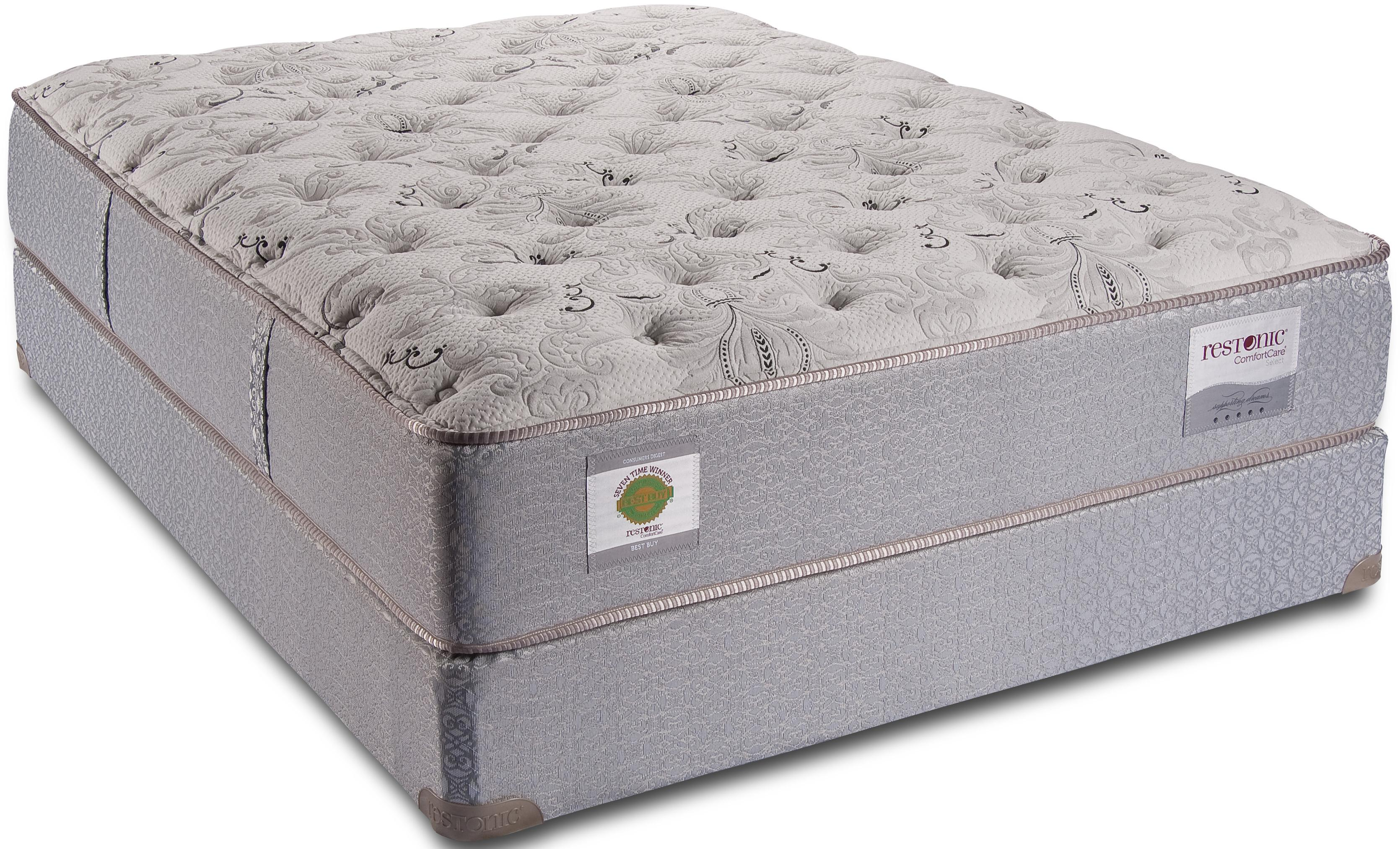 King Cushion Firm Mattress By Restonic Wolf And Gardiner