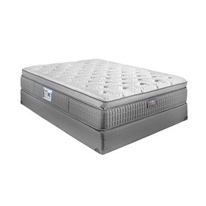 Restonic ComfortCare Signature - Saphire Queen Pillow Top Hybrid Mattress