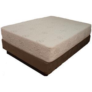 Restonic HealthRest Relax Cal King Memory Foam Mattress