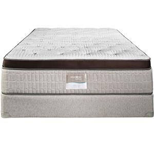 Restonic Vienna King Eurotop Firm Mattress
