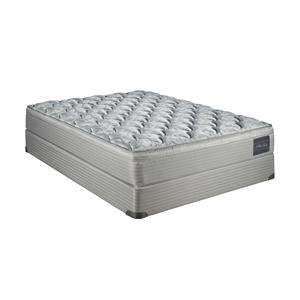 Restonic Grace Twin Super Plush Pillow Top Mattress Set