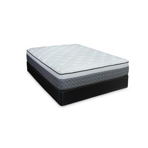 Twin Emerald Plush Mattress and High Profile Foundation