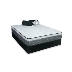 Twin Ruby Extra Firm Mattress and Low Profile Foundation