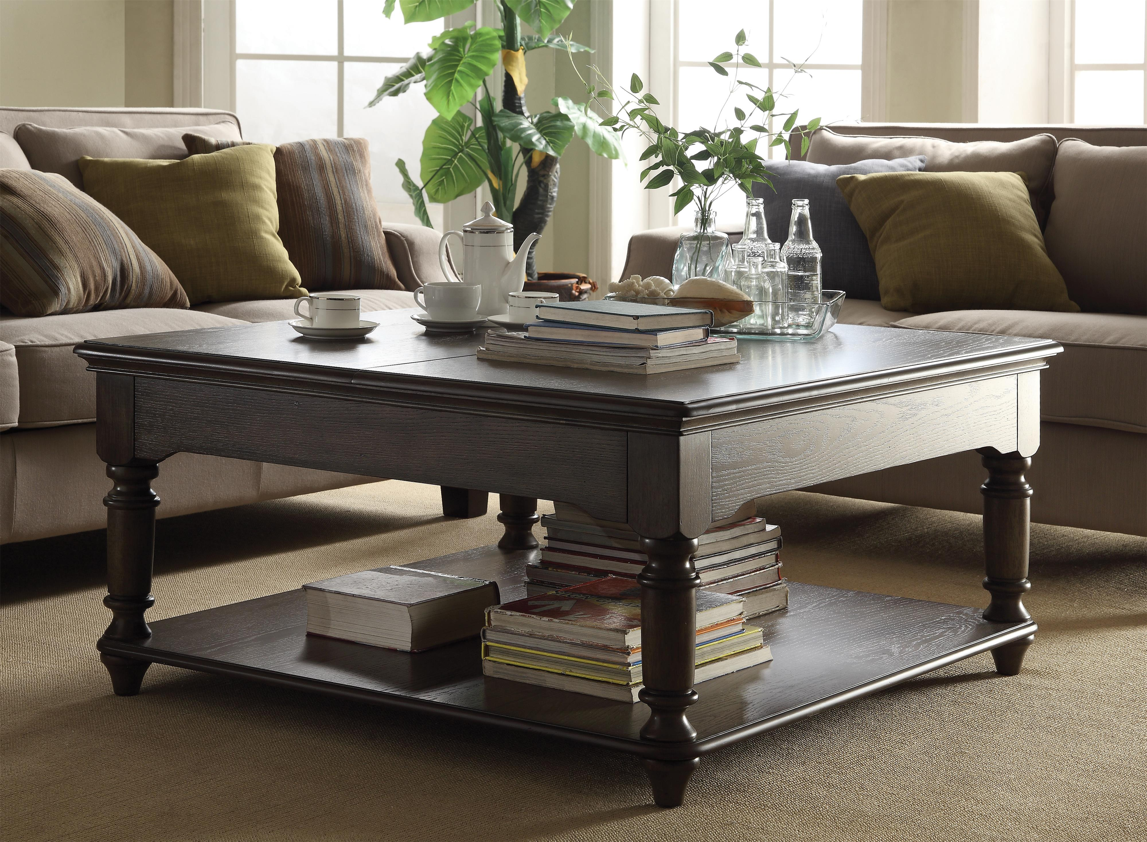 Square Lift Top Coffee Table by Riverside Furniture