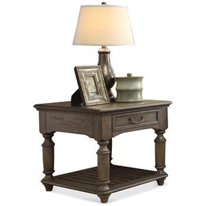 Riverside Furniture Belmeade Rectangular End Table
