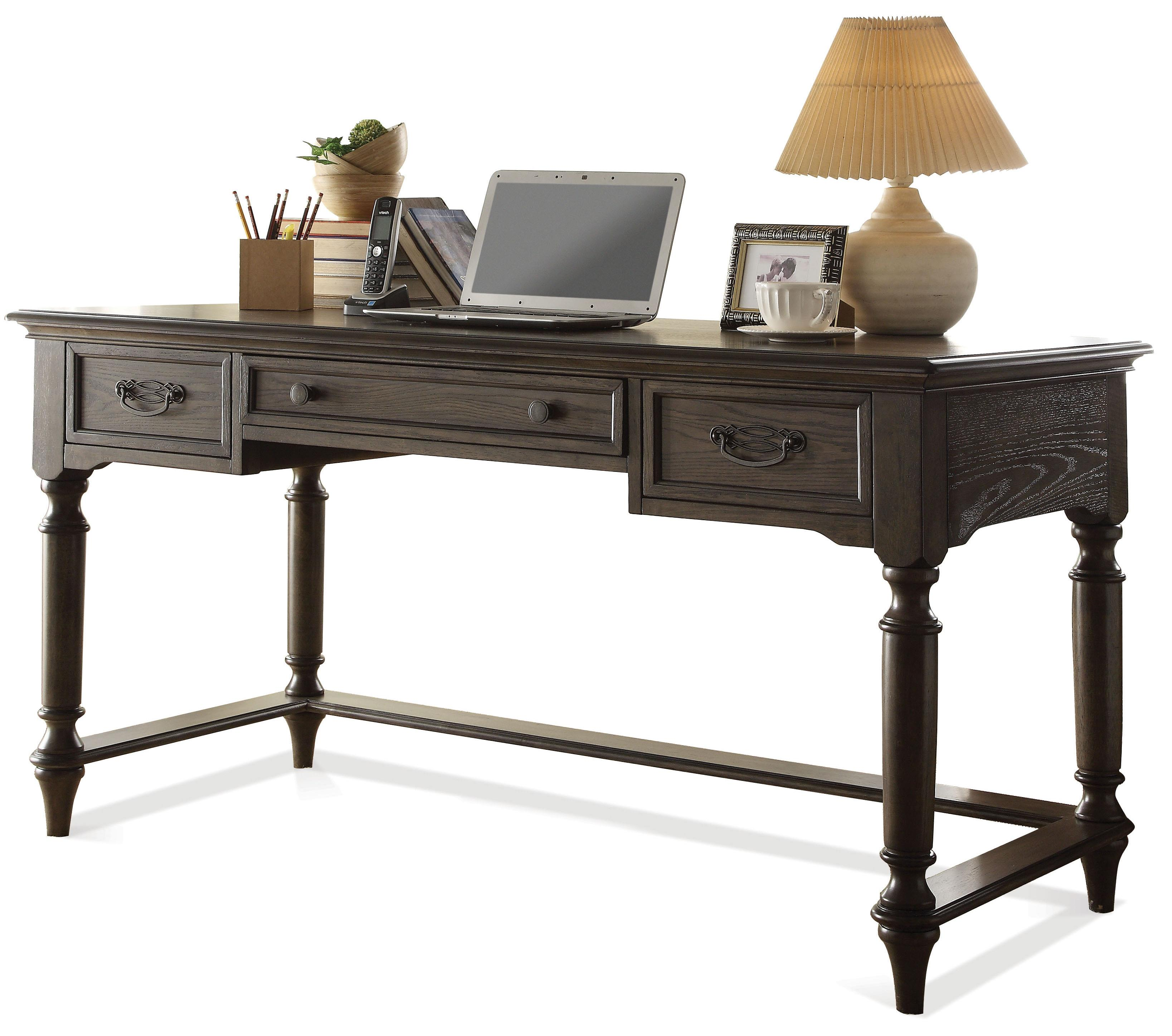 Lovely By Riverside Furniture. Traditional Writing Desk W/ Outlet