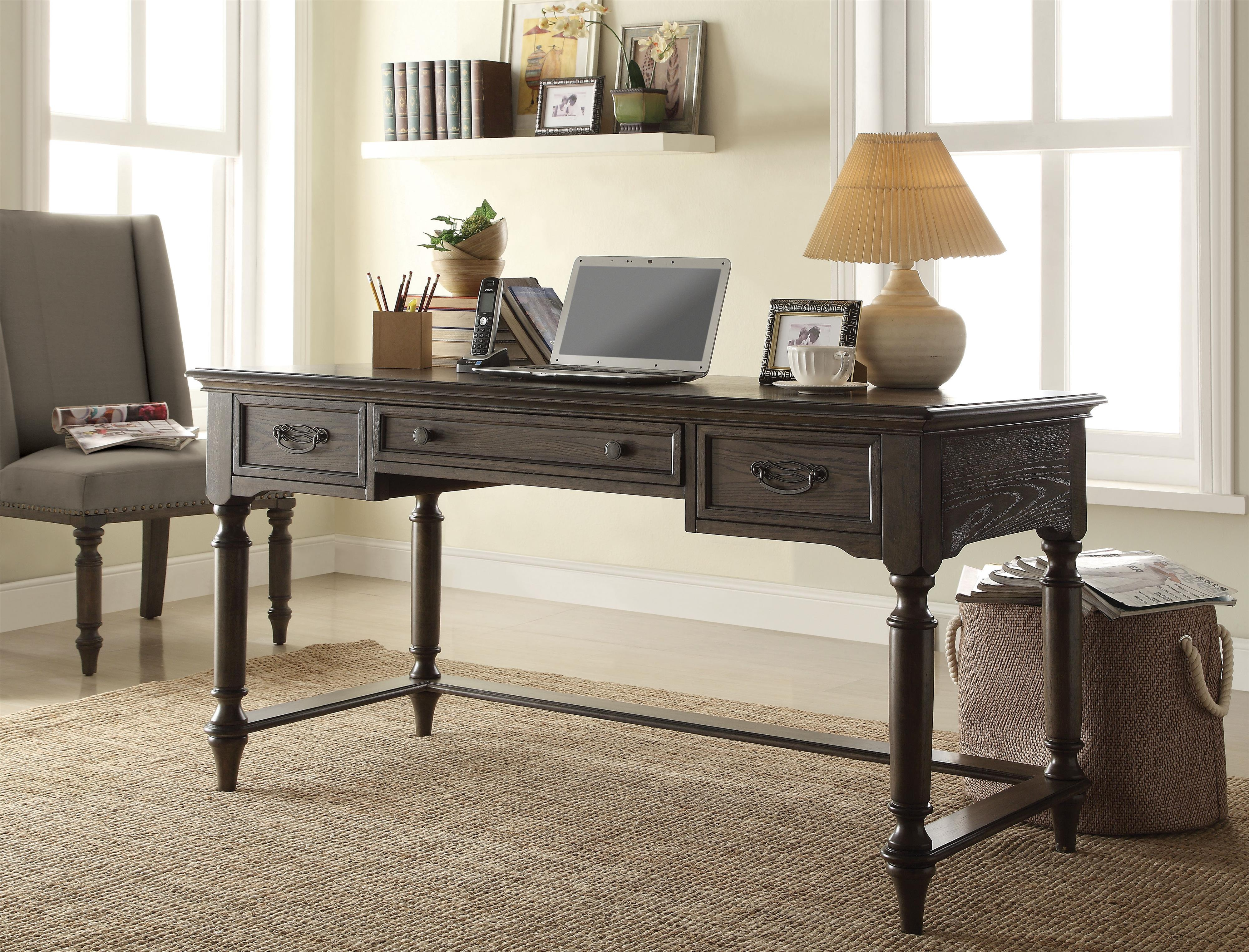 Traditional Writing Desk W/ Outlet. Low Price Guarantee Badge By Riverside  Furniture