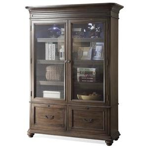 Riverside Furniture Belmeade DOOR BOOKCASE