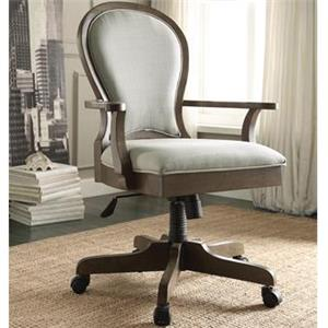 Riverside Furniture Belmeade SCROL BACK UPH DESK CHAIR