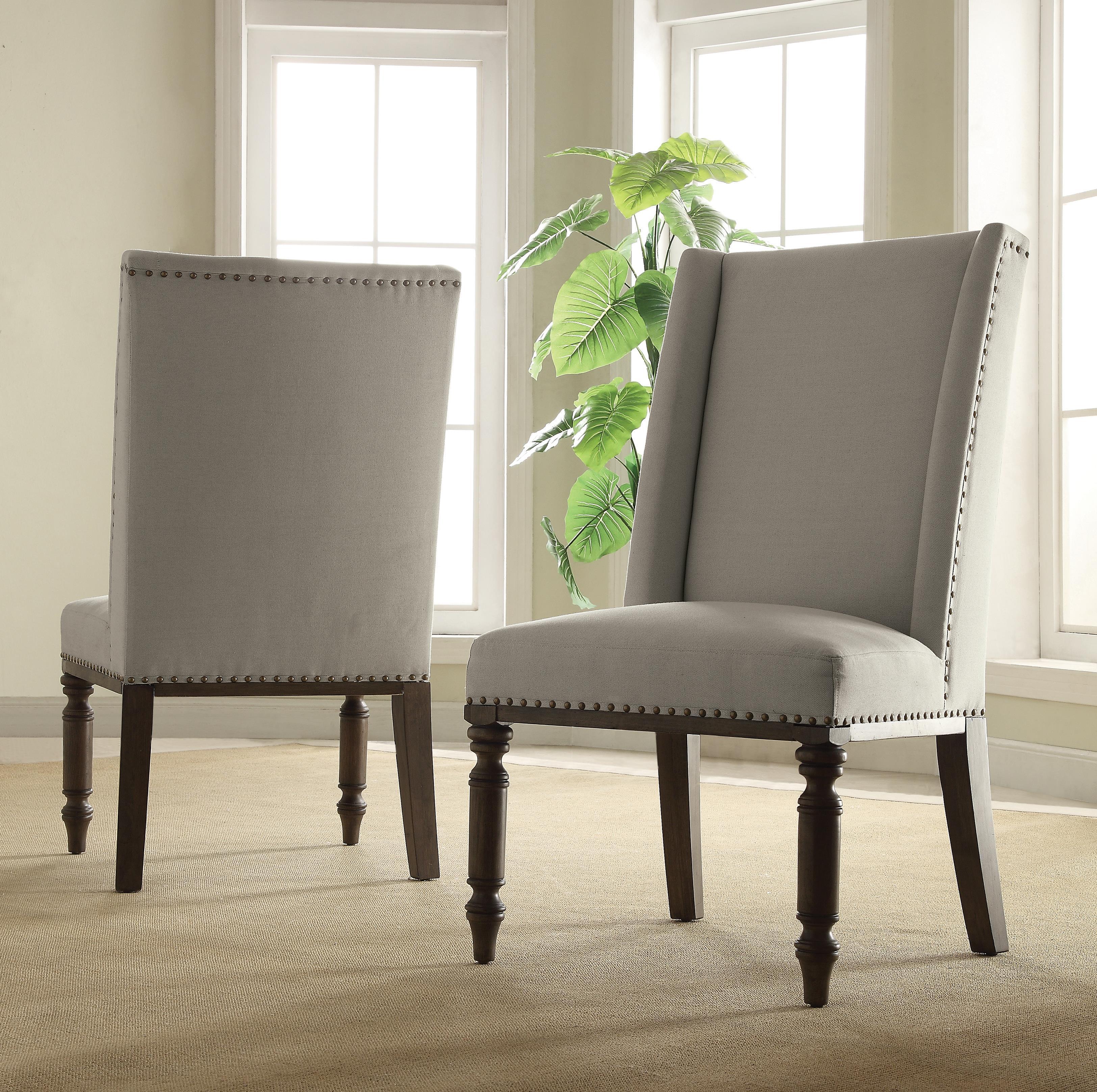 Hostess Chair W/ Nailhead Trim