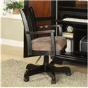 Riverside Furniture Bridgeport  Desk Chair with Upholstered Seat